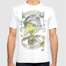 natal 4ever MEDIUM Mens Fitted Tee White