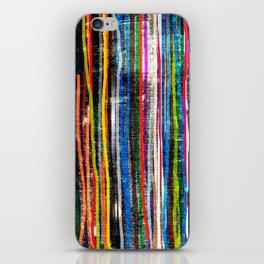fancy stripes 1 iPhone Skin