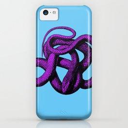 Snek 4 Snake Purple Blue iPhone Case