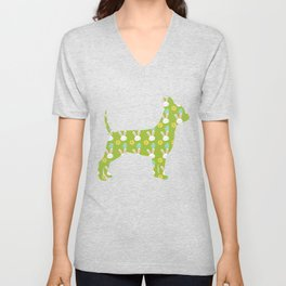 Chihuahua Dog - Easter Bunny Chihuahua Owner Unisex V-Neck