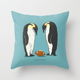 Prepare for the unexpected Throw Pillow