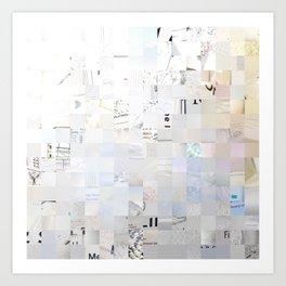 White, Photography Art Print