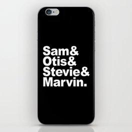 Soul Men B iPhone Skin