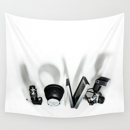 Love Photography Wall Tapestry
