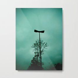 Pole without light Metal Print