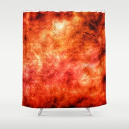 Inferno MM20180324a s6 Shower Curtain