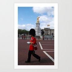 Guard and his Shadow 3 Art Print