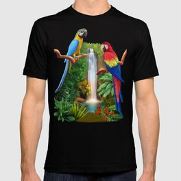 Macaw Tropical Parrots T-shirt