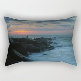Beach Sunrise Rectangular Pillow