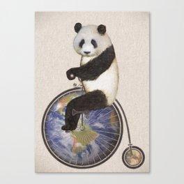 Penny Makes the World Go Around Canvas Print