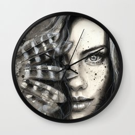 Freckly Wall Clock