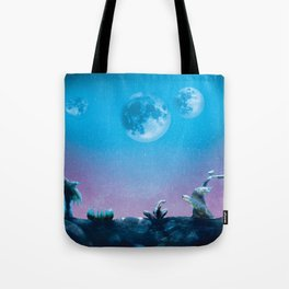 A Cold Night in Space Tote Bag