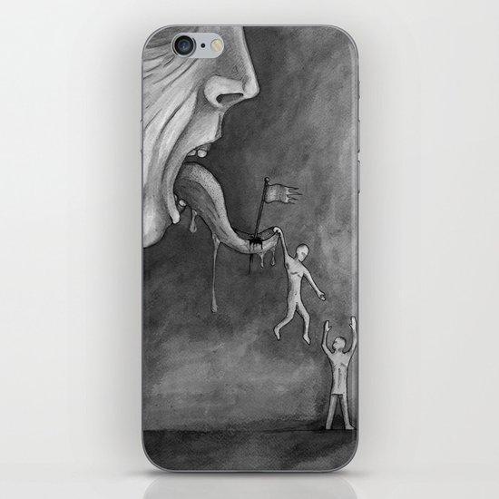 The claim on freedom iPhone Skin