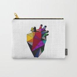Rainbow Heart Carry-All Pouch