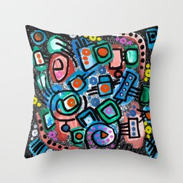 """""""Chaotic Mind"""" Throw Pillow"""