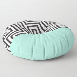 The Maze Floor Pillow
