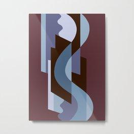 SUISSE - Art Deco Modern: BALORAMA LOUNGE Metal Print