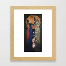 Origin of Inspiration Framed Art Print