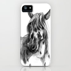 Leopard Spotted Horse portrait sk127 Slim Case iPhone (5, 5s)