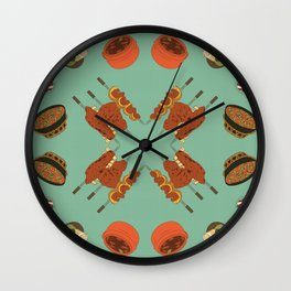 Delights of Brazil II Wall Clock
