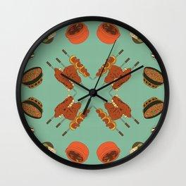 Delights of Brazil II Wall Clock