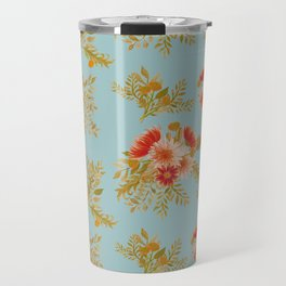 Watercolor floral bunches Travel Mug
