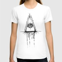 all seeing eye T-shirts featuring All Seeing Eye  by Emalee Røse