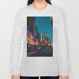 City Lights NYC (Color) Long Sleeve T-shirt