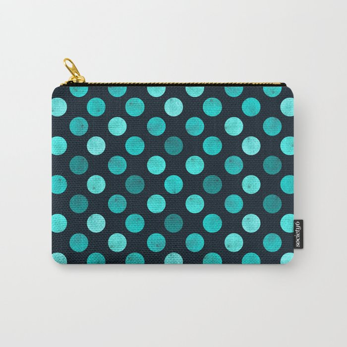 Watercolor Dots Pattern IV Carry-All Pouch