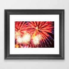 Fireworks - Philippines 14 Framed Art Print