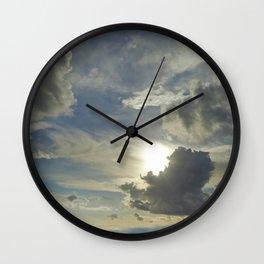 Cloud Play Wall Clock