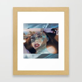 Ocean Eyes Framed Art Print