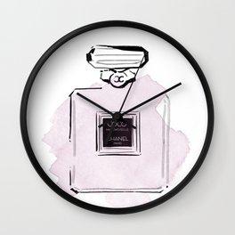 Purple perfume #2 Wall Clock