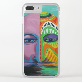 Face as Canvas Clear iPhone Case