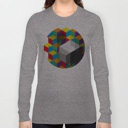 Isometric Colour Long Sleeve T-shirt