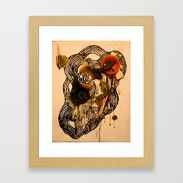 Recycled Candles  Framed Art Print