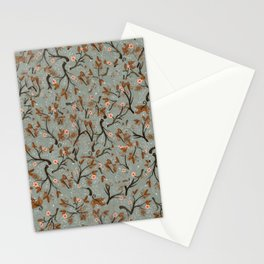 Snow Floral Stationery Cards