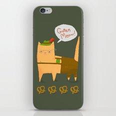 Oktoberfest Kitty iPhone & iPod Skin