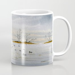 Duck Hunting - The Island Duck Blind Coffee Mug