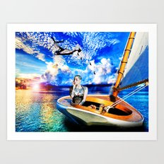 Dawn-Treader Art Print
