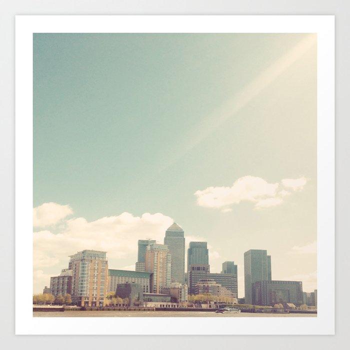 London Skyline Art Print