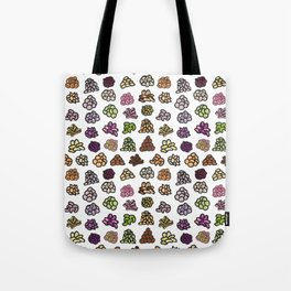 Healthy Nuts Pattern Art Tote Bag