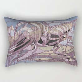 The Beach Alcove Rectangular Pillow