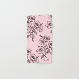Palid Flowers  Hand & Bath Towel