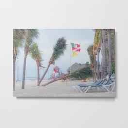 Resting Palm Trees Metal Print