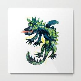 Dragon 2 Metal Print