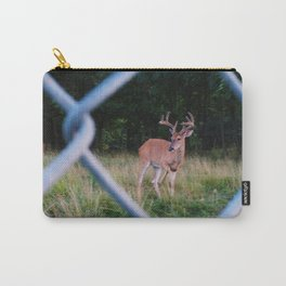 chain locked antlers Carry-All Pouch