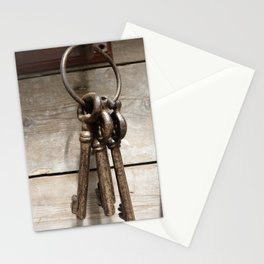 Keychain-close-up Stationery Cards