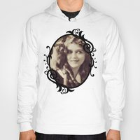 thundercats Hoodies featuring Mary Pickford - Vintage Lady with kitten by Augustinet
