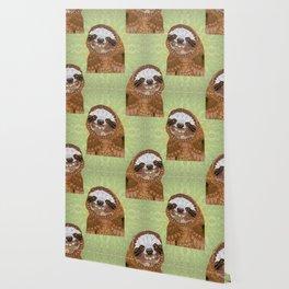 Smiling Sloth Wallpaper